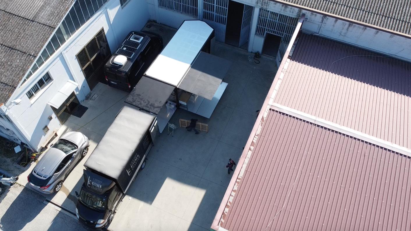 Come trasformare una fabbrica in un ristorante per un giorno